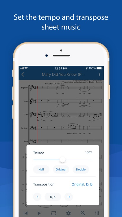 MuseScore: sheet music screenshot-5