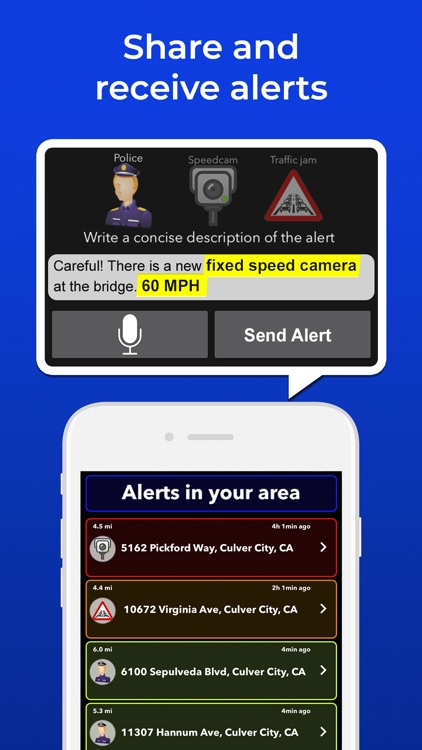 Radarbot: Speedcams Detector screenshot-3