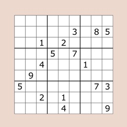 Sudoku Puzzle for Brain Train