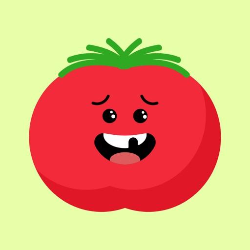 tomato funny stickers app