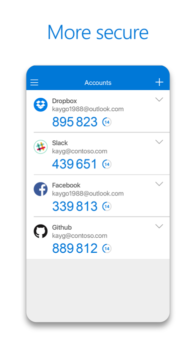 Microsoft Authenticator app image