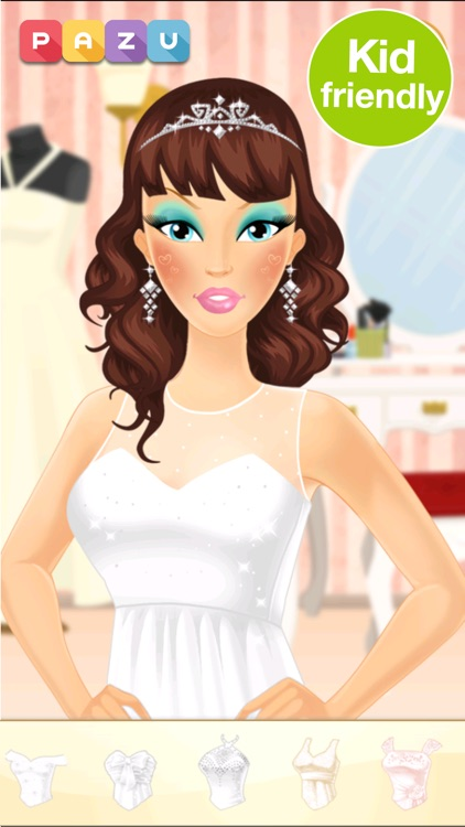 Makeup Girls Wedding Dress up screenshot-0
