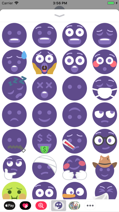 Ultra Violet Stickers 2018 screenshot four