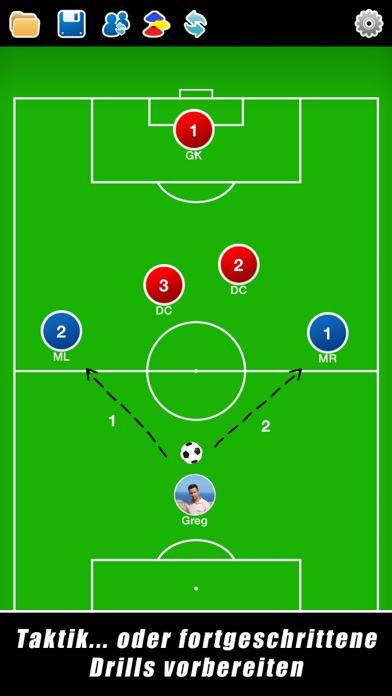 Screenshot for Taktikboard für Fußball++ in Austria App Store