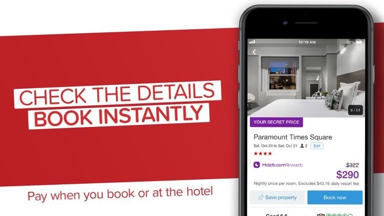 Hotels.com: Book Hotels & More screenshot-3