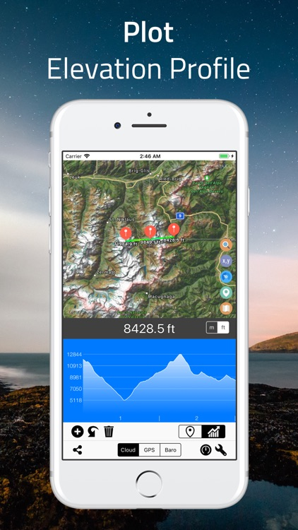 Elevation - Altimeter Map