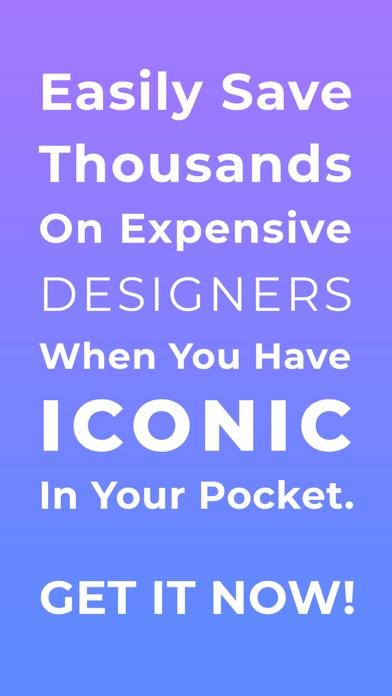 アイコニック:ロゴメーカーとブランディング、ロゴの作成のスクリーンショット10