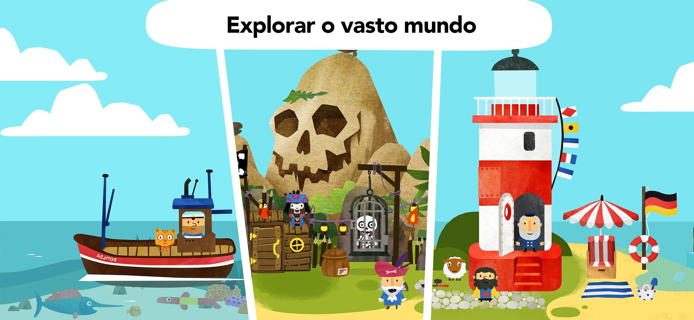 Screenshot do app Fiete World