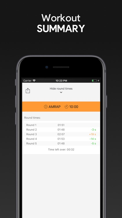 SmartWOD Timer - WOD Timer screenshot-5
