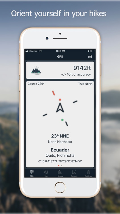 Navstar - GPS & Map for Hikers