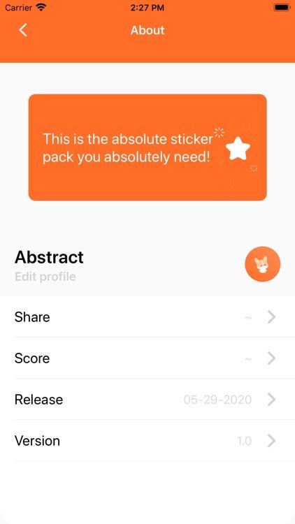 AbstractSticker screenshot-4