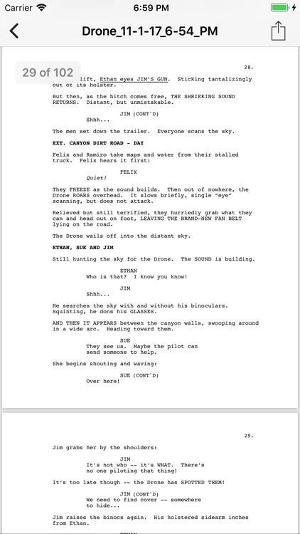 Slugline: Simply Screenwriting screenshot-3