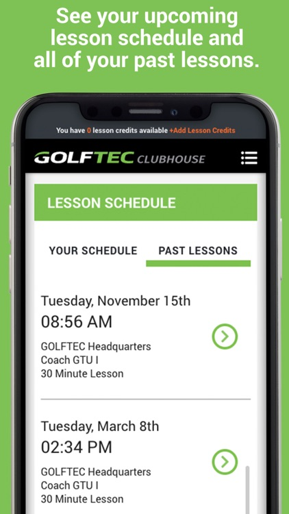 GOLFTEC CLUBHOUSE