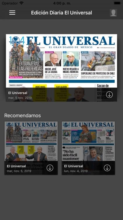 El Universal Edición Digital