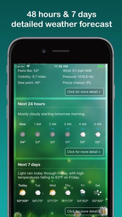Weather Widget & Radar screenshot-7