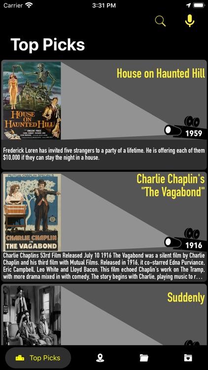 Retro Cinema-Classic Movie Box screenshot-9