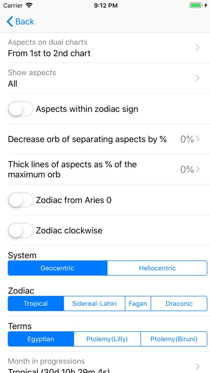 Astrological Charts screenshot-8