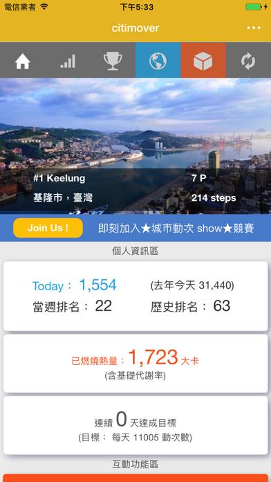 Citimover 城市運動家 screenshot one