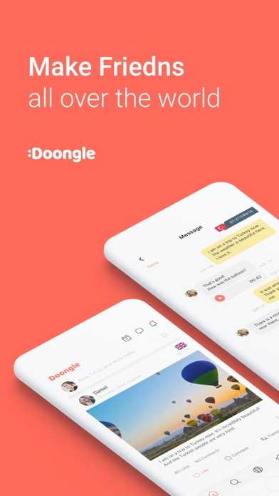 Doongle - 1Mil Global Penpal by Doongle Inc  (iOS, United