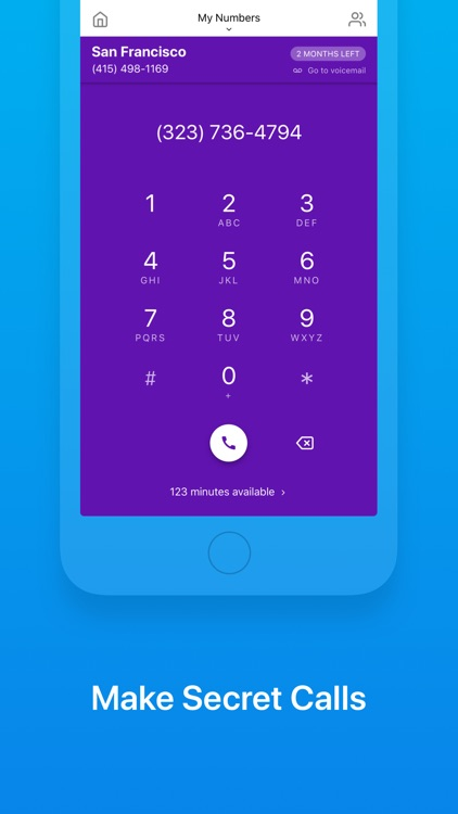 Unlisted: Private Phone Number screenshot-3