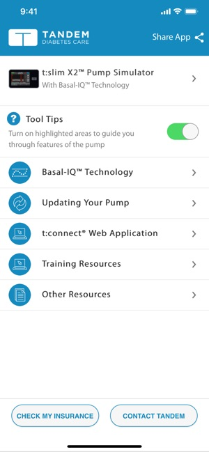t:simulator™ App on the App Store