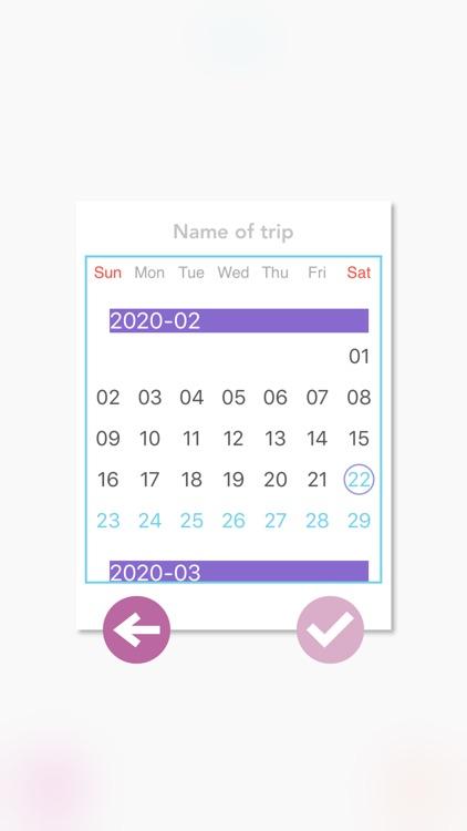 I'M Itinerary