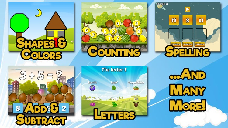 Preschool & Kindergarten Games screenshot-1