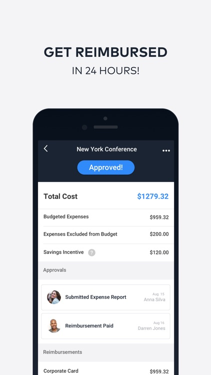 TravelBank Expenses and Travel screenshot-3
