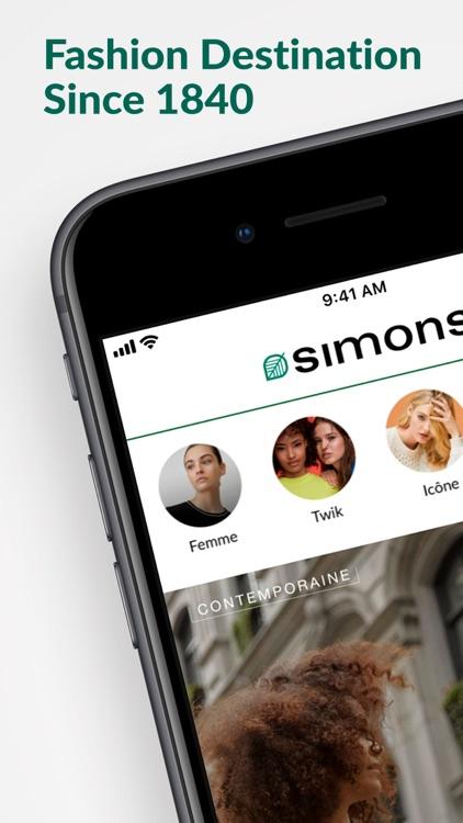 Simons - A Fashion Destination