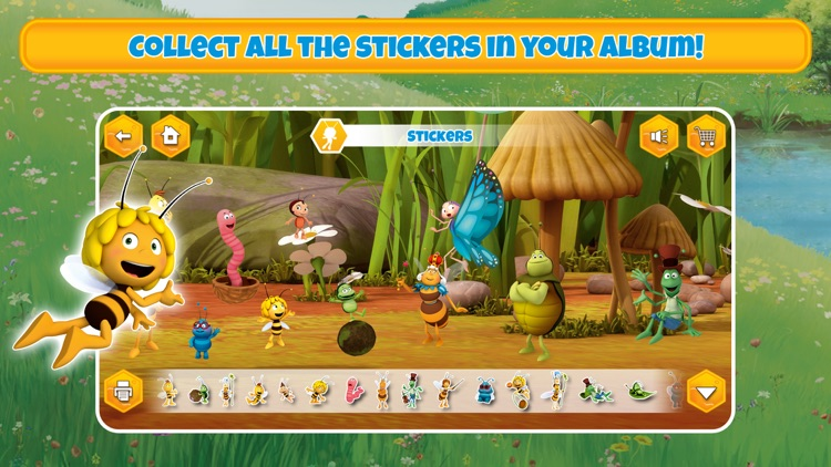 Maya the Bee's gamebox 1 screenshot-6