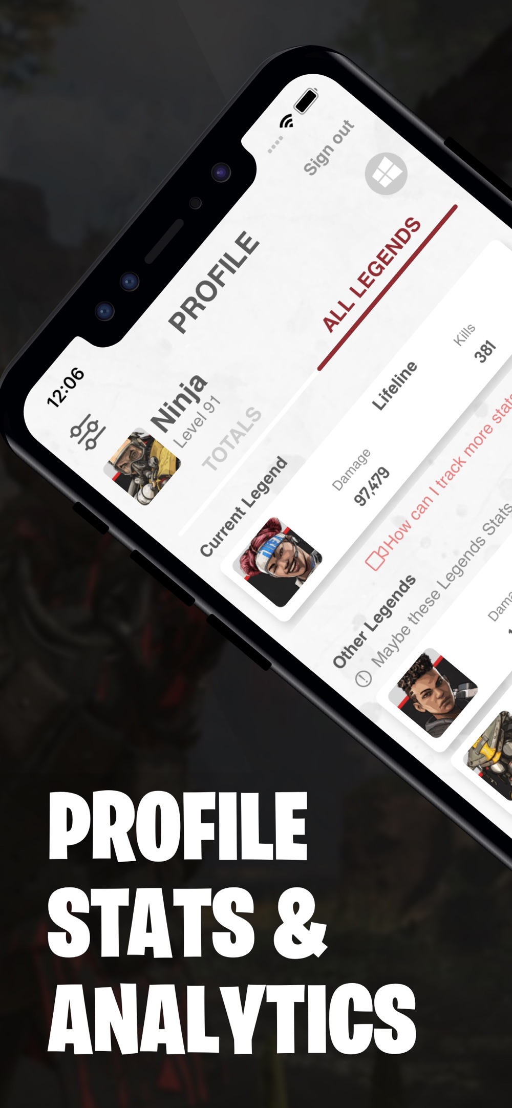 Stats & Tools for APEX Legends Cheat Codes