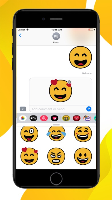 Emotion Emoji Stickers screenshot 3