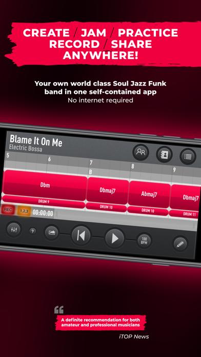 SessionBand Soul Jazz Funk 1 screenshot 6