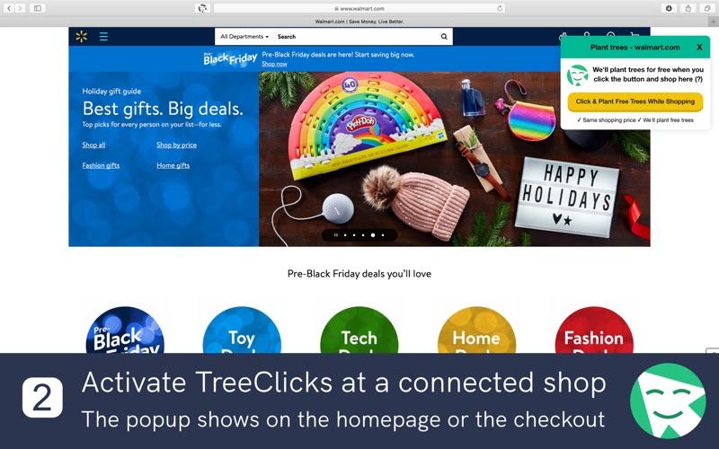 TreeClicks Screenshot