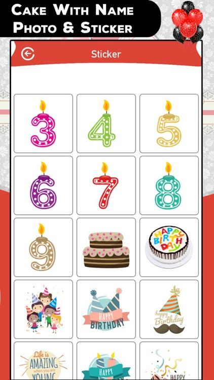 Cake With Name Photo & Sticker screenshot-3