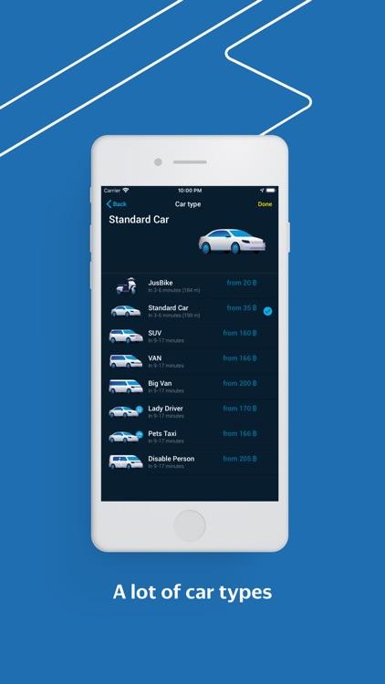 JusGo — Taxi & Delivery screenshot-3
