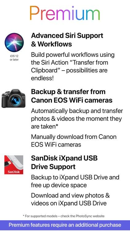 PhotoSync – transfer photos screenshot-8