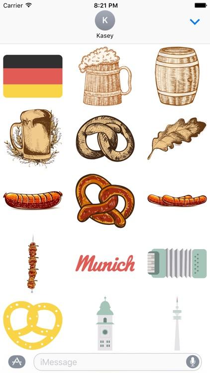 Germany Sticker Pack
