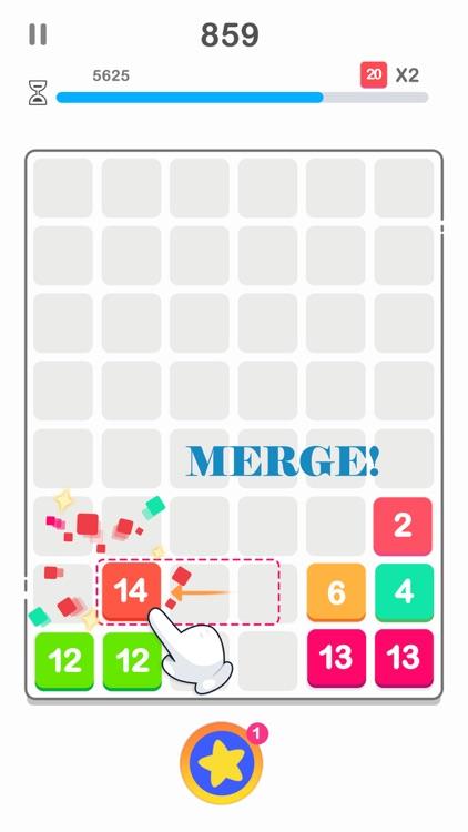 Drag n Merge: Bubble screenshot-3
