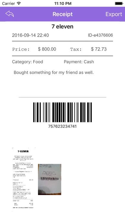 Receipt Smart screenshot-3