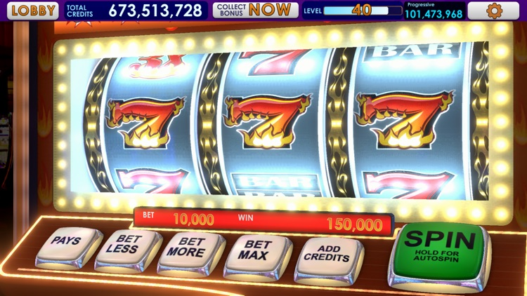 Triple 7 Deluxe Classic Slots screenshot-3
