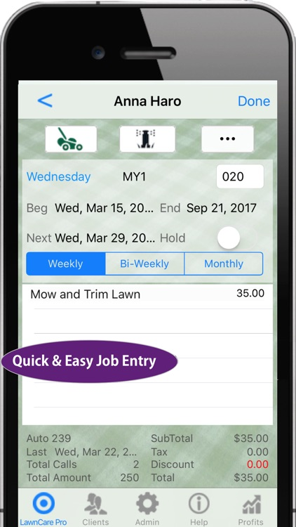 LawnCare Pro Invoicing & More screenshot-3