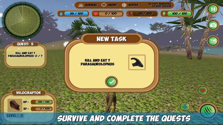 Compsognathus Simulator screenshot-4