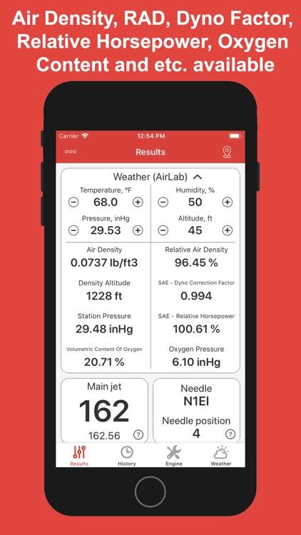 Jetting for Beta 2T Moto screenshot-4