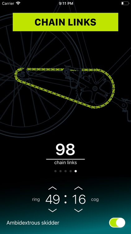 Chainring: Bicycle Gear Calc screenshot-5
