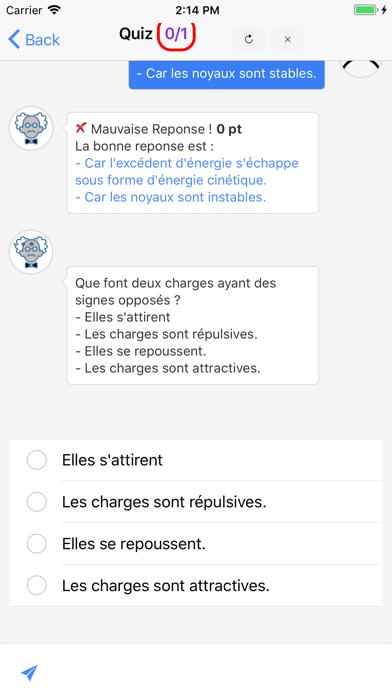 Chimie 1ère ES screenshot 3