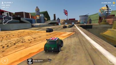 Screenshot from Table Top Racing: World Tour