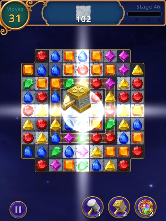 Jewels Magic: Mystery Match3 screenshot 12