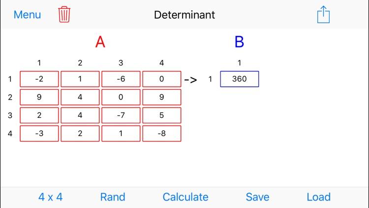 MatrixAlgebra screenshot-3