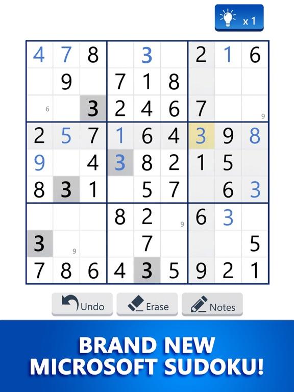 Microsoft Sudoku screenshot 10